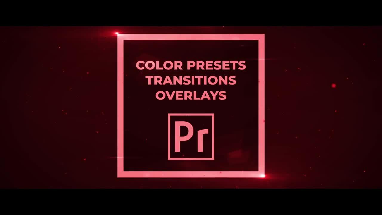 免费下载Premiere 50组电影/视频调色预设,视频过渡,叠加效果 PR插件 第1张