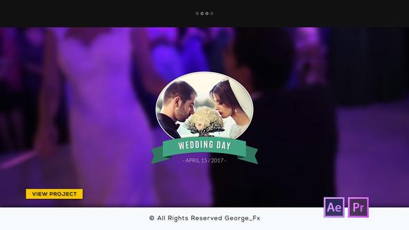 15组浪漫优雅标题文字Premiere模板 婚礼视频文字标题展示PR模板/AE模板 婚礼婚庆 第1张