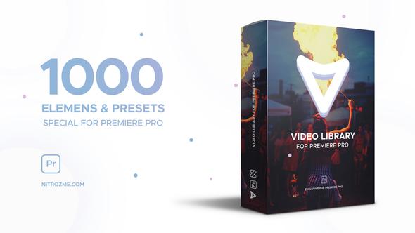 MOGRT视频制作库 Premiere遮罩/转场/特效视频剪辑效果模板库预设插图