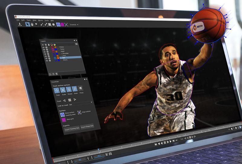 Premiere专业三维摄像机反求跟踪插件 Pr插件Mocha Pro 2019 v6.0.1.128 Win/Mac破解版插图