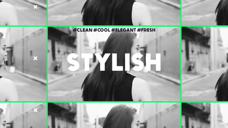 PR淘宝主图视频模板 时尚服饰促销模特展示品牌宣传PR模板插图(2)
