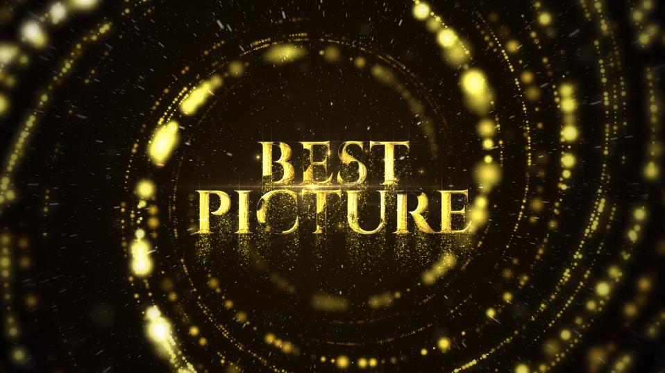 PR模板 震撼大气金色粒子颁奖典礼开幕式PR标题文字动画视频模板插图