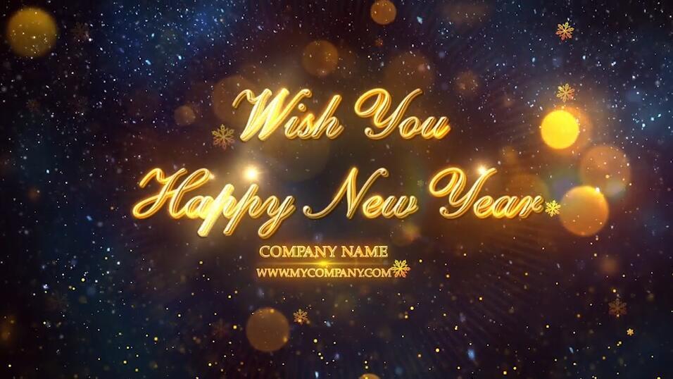 2020年新年倒计时PR模板 PR元旦晚会舞台表演活动开场视频模板插图(5)