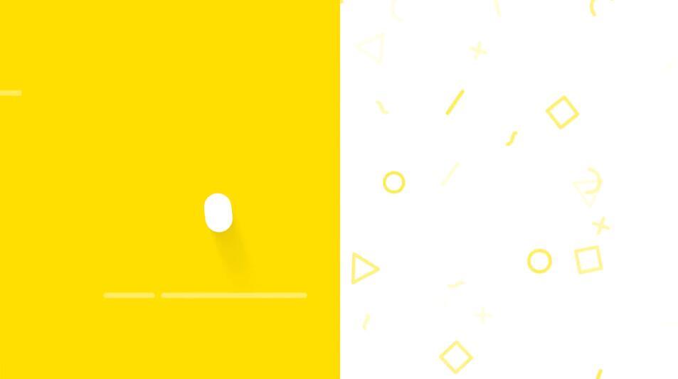 一个简单有趣可爱的LOGO跳跃展示动画PR模板免费下载插图