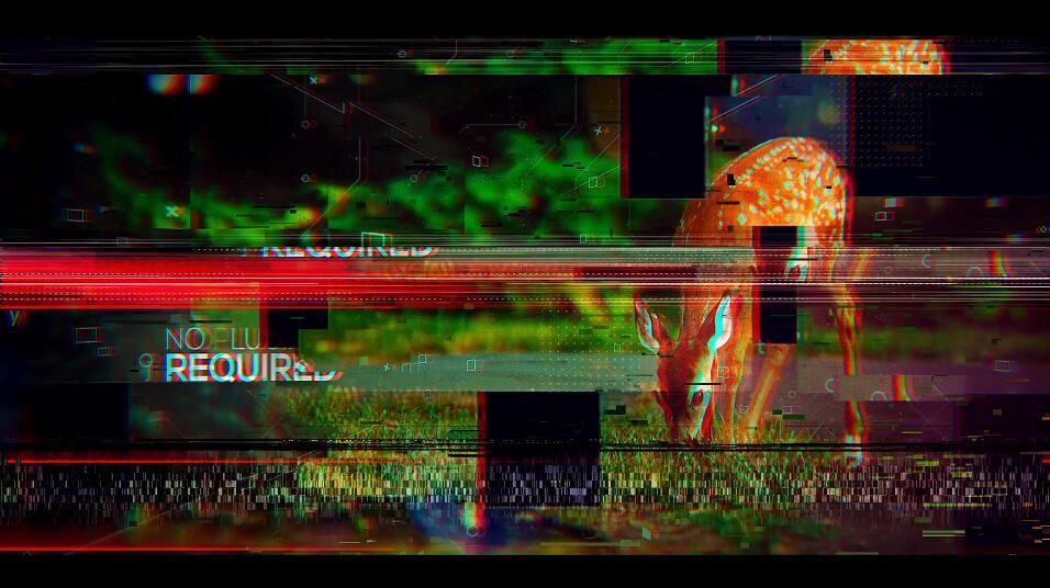 PR幻灯片模板 PR故障干扰效果照片展示宣传短视频模板免费下载插图(2)