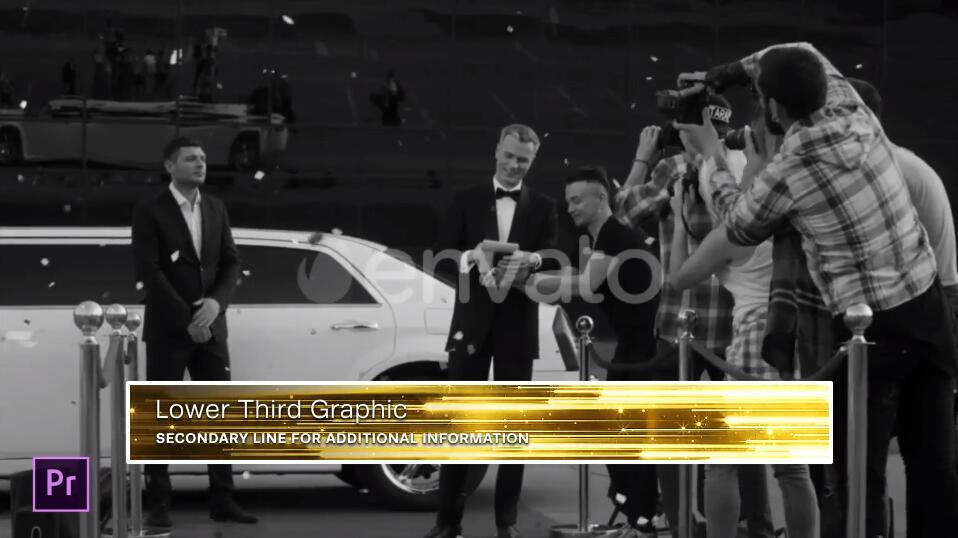 PR模板 高端大气金色奢华粒子效果颁奖典礼PR模板(附详细视频教程)插图(1)