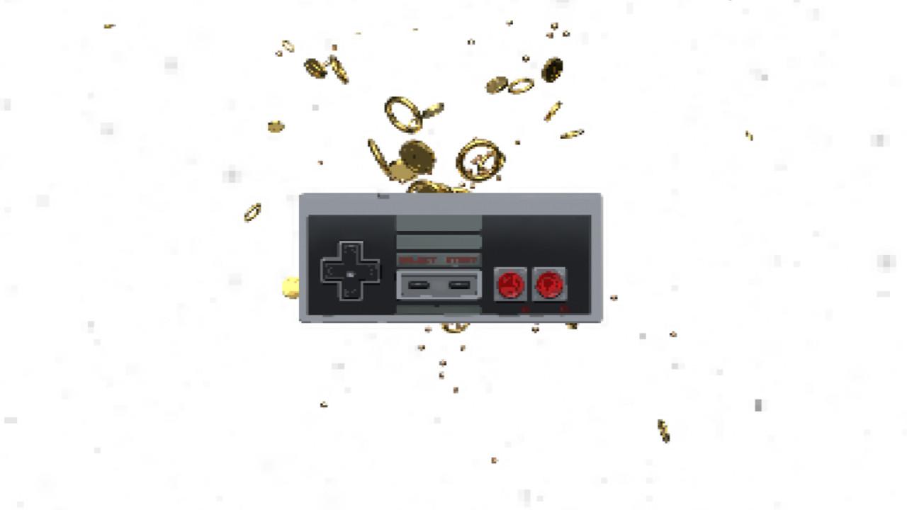 PR片头模板免费下载 复古老式游戏手柄动画PR游戏片头模板