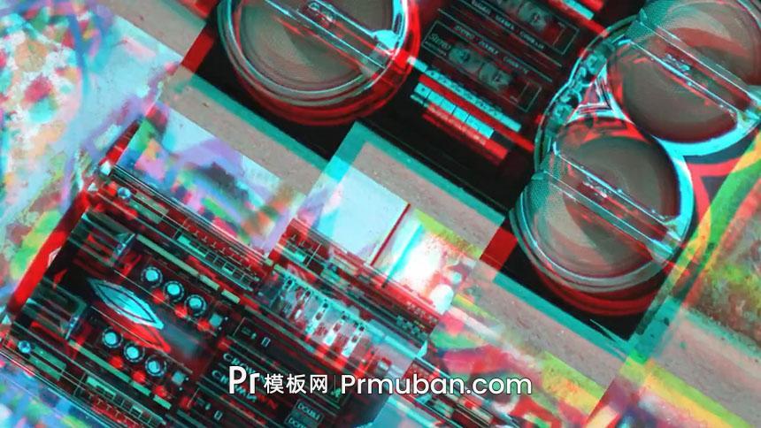 PR特效转场 快速画面分割视频转场过渡PR转场模板下载