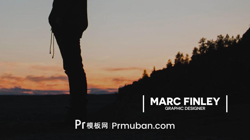 免费PR字幕模板 极简风格字幕条动画PR动态图形模板MOGRT-PR模板网