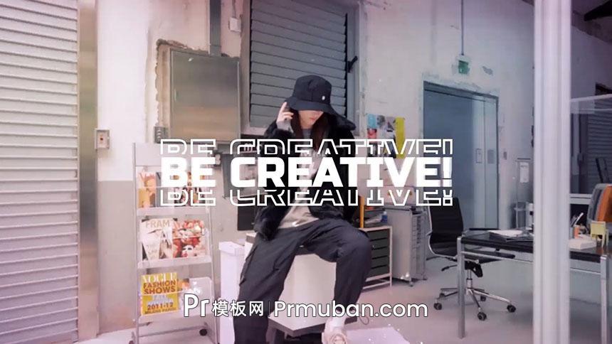 免费PR模板|AE模板 超炫酷潮流时尚街头街拍玩酷PR模板下载-PR模板网